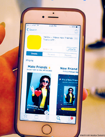 Yellow: Is it Just Tinder for Kids?