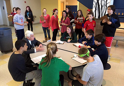 8th Graders Become Journalists