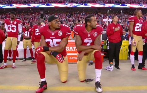 Taking a Knee During Anthem Draws Attention