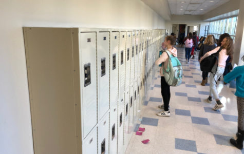 Breaking News: Lockers Installed For Coleytown Students