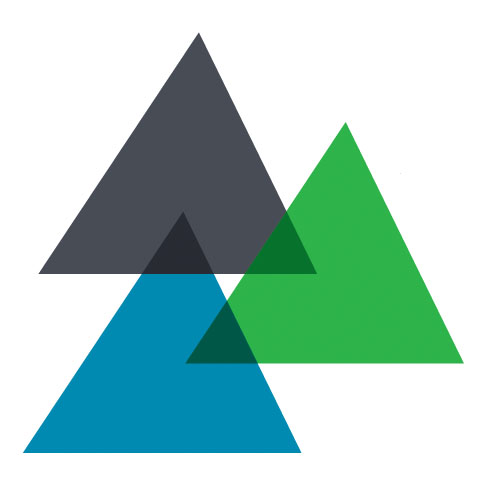 The three colored triangles of the SBAC test