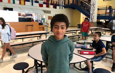This 7th grader ran his timed mile in a blistering 5 minutes and 20 seconds.