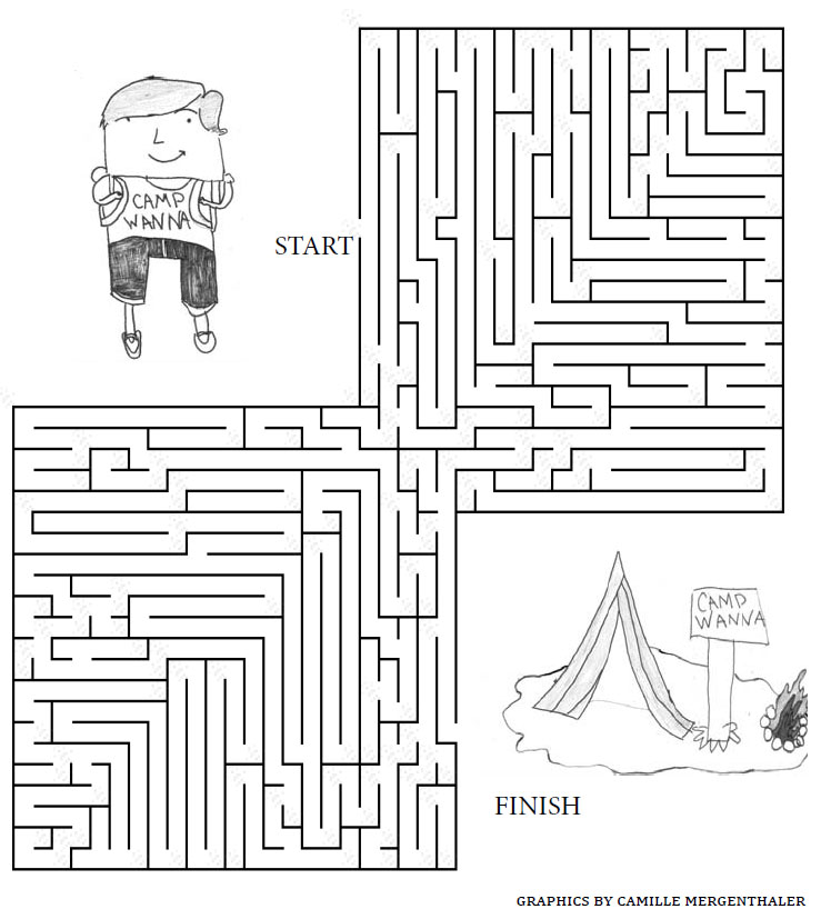 Camp Craze Brings a Camp Maze