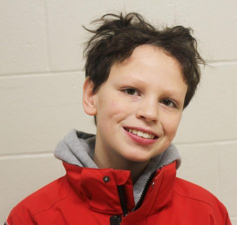 Despite the cost, time and effort, 6th grader Nate Armstrong enjoys participating in competitive ski races.