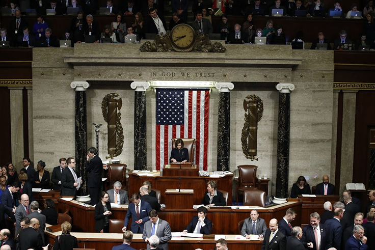 The+House+of+Representative%E2%80%99s+Wednesday+vote+now+moves+the+impeachment+process+onto+the+Senate+for+a+trial+in+January.+