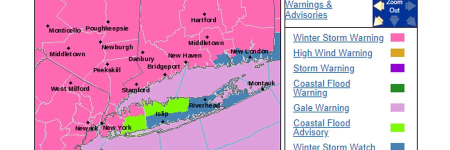 Extreme Snow Storm to Arrive Thursday