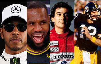 Lewis Hamilton, LeBron James, Aryton Senna and Terry Bradshaw are all current or former members of powerful sports dynasties.