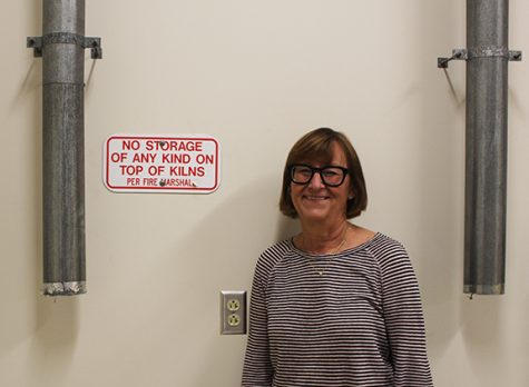 Art teacher Ms. Lynne Karmen is excited for the addition of new pottery kilns and wheels to the art department.